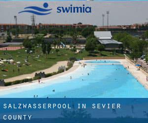 Salzwasserpool in Sevier County